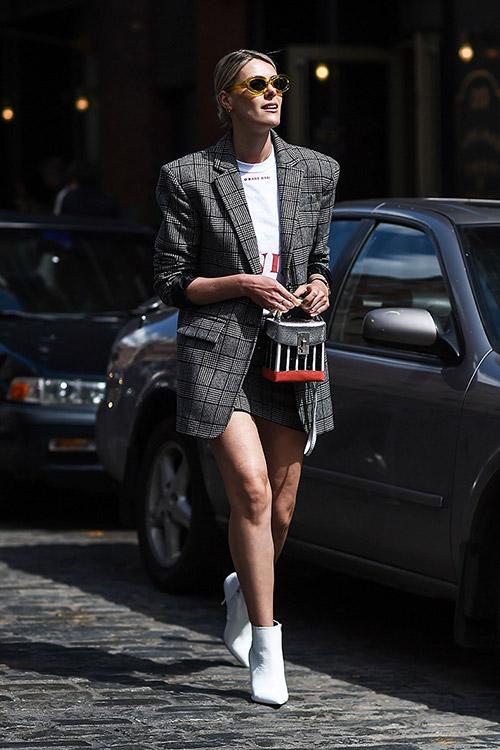 Уличная мода Нью-Йорка во время показов весна/лето 2018 - фото 40