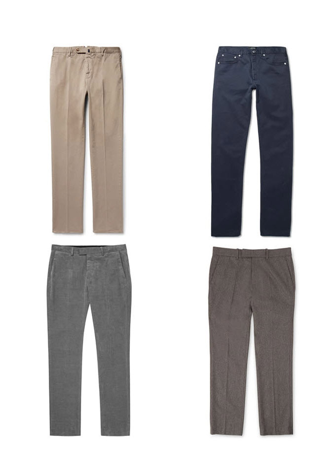 Элегантные повседневные брюки - как одеваться тем кому за 30