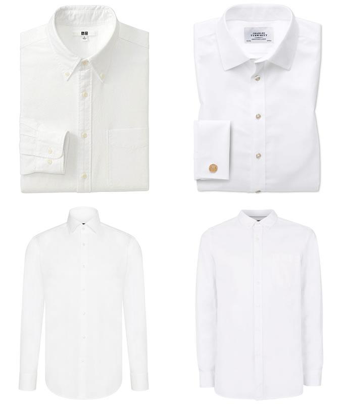 Белые рубашки для тех кому за 20