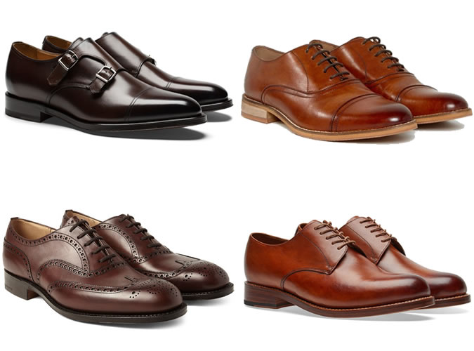 Коричневые ботинки ключевые детали
