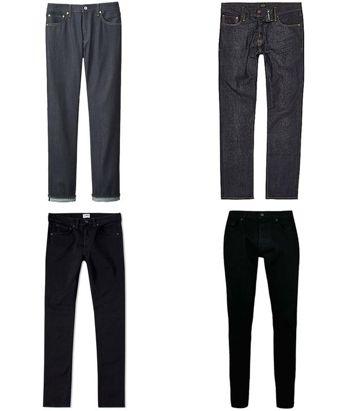 Темные джинсы для тех кому за 20