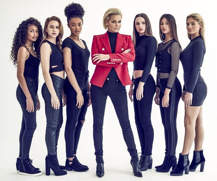 Создание модели - Иоланда Хадид с участницами