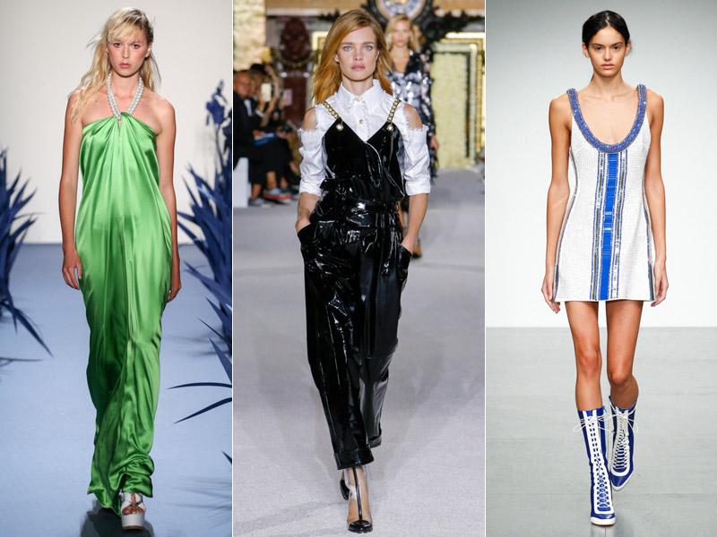 Тренд 16 - Декоративные украшенные лямки - модные тенденции сезона весна/лето 2018
