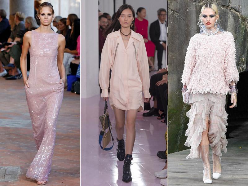 Тренд 3 - пыльно-розовый цвет в одежде - модные тенденции сезона весна/лето 2018
