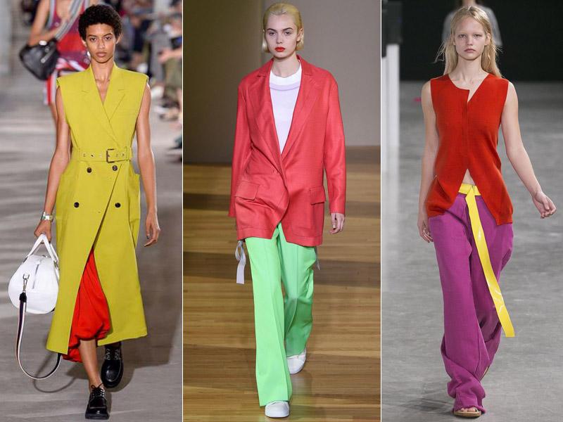 Тренд 6 - сочетание ярких цветов 1 - модные тенденции сезона весна/лето 2018