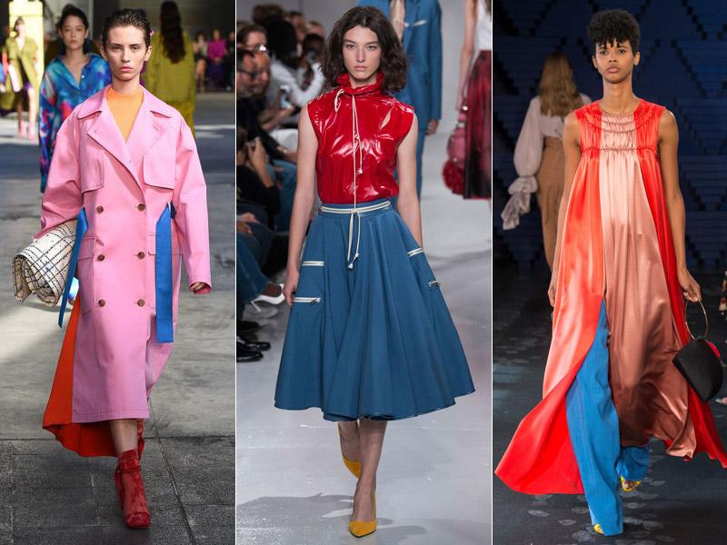 Тренд 6 - сочетание ярких цветов 2 - модные тенденции сезона весна/лето 2018