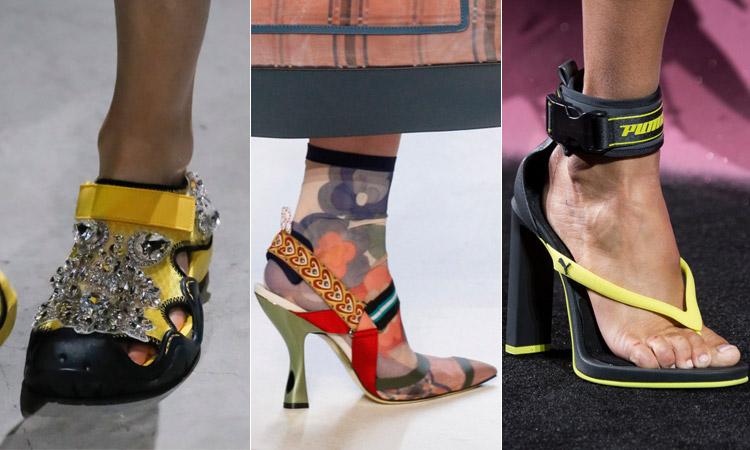 тренд 14 - босоножки и сандалии в спортивном стиле 1 модная обувь весна лето 2018