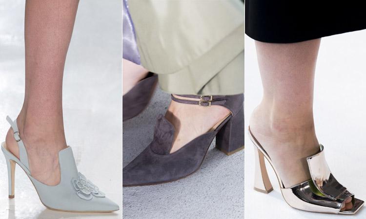 тренд 5 - обувь с высоким язычком модная обувь весна лето 2018