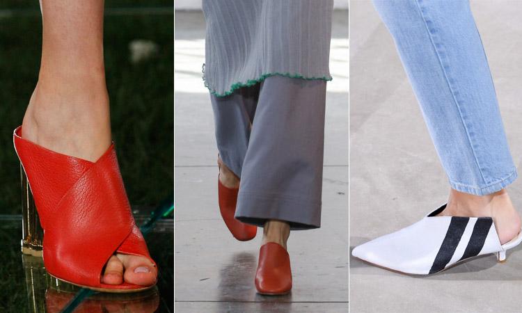 тренд 7 - мули модная обувь весна лето 2018