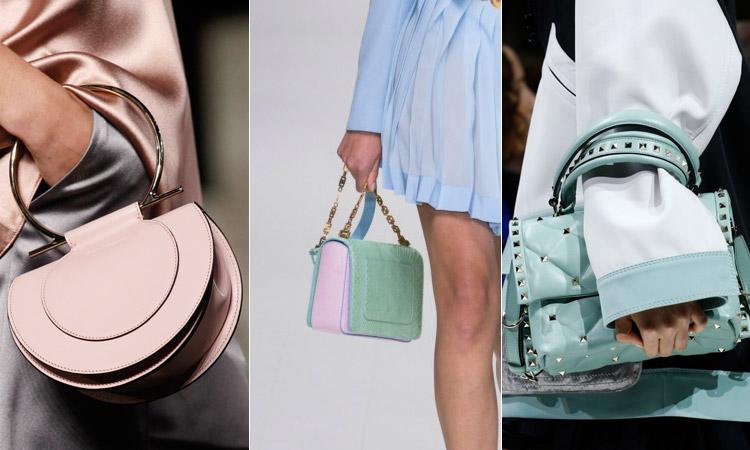 тренд 7 - Модные сумки пастельных оттенков весна/лето 2018