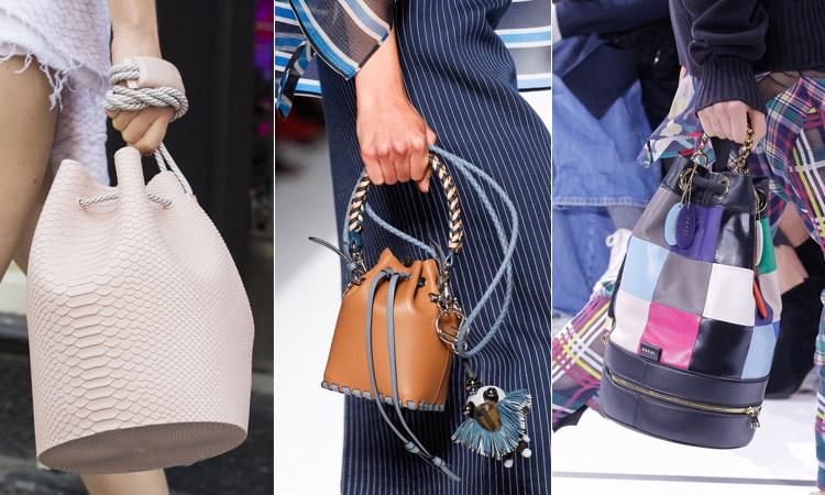 тренд 3 - Модная сумка ведро весна/лето 2018