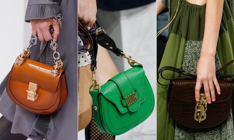 тренд 1 - Модная сумка седло весна/лето 2018