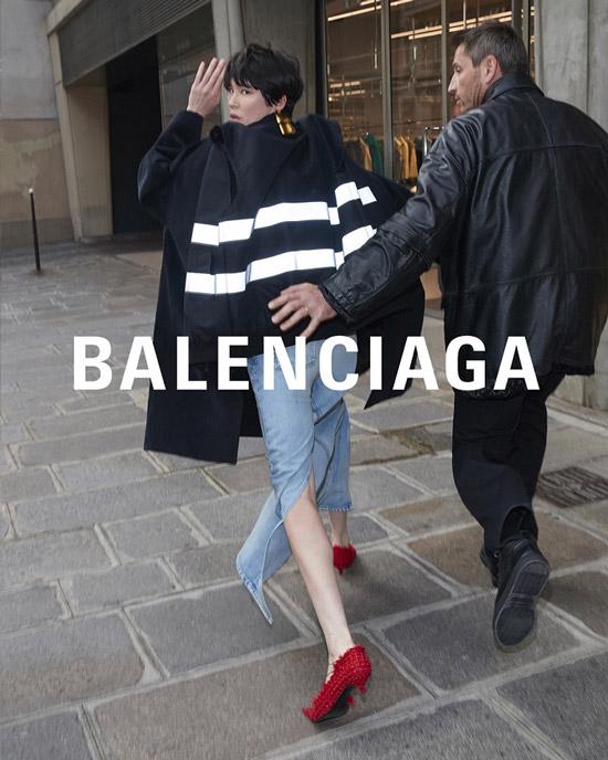 Баленсиага рекламная компания весна лето 2018 фото 2