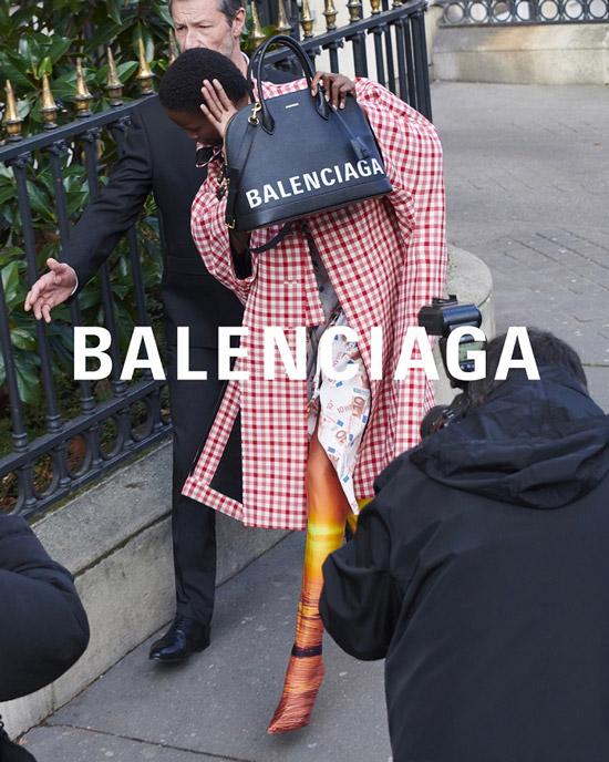 Баленсиага рекламная компания весна лето 2018 фото 5