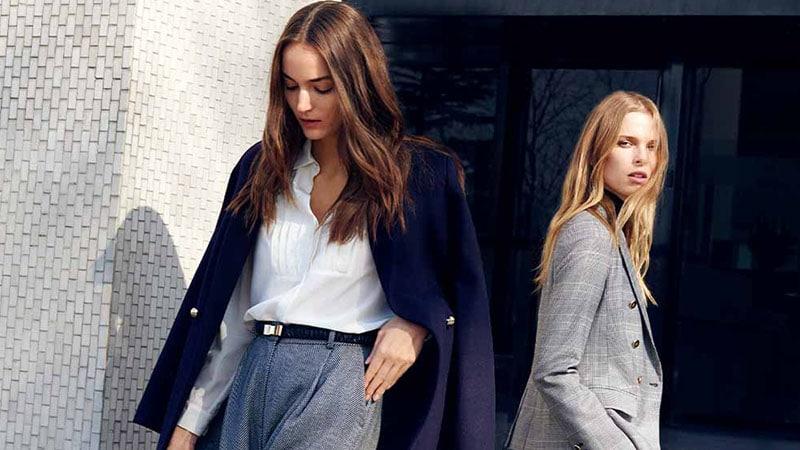 Девушки в офисных нарядах
