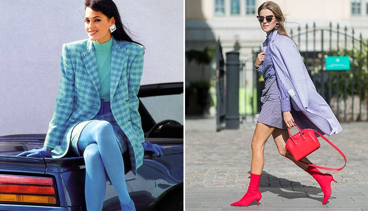 Девушки в пальто пастельного оттенка