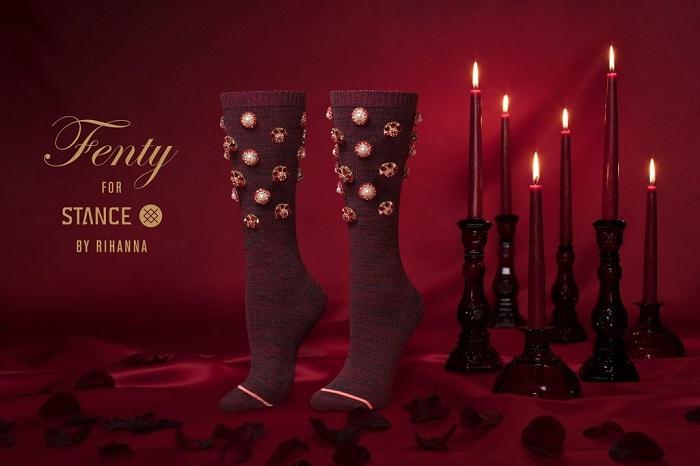 Коллекция носков на день святого валентина от рианны и Stance-f3