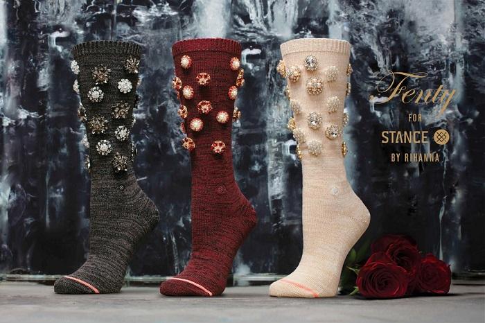 Коллекция носков на день святого валентина от рианны и Stance-f2