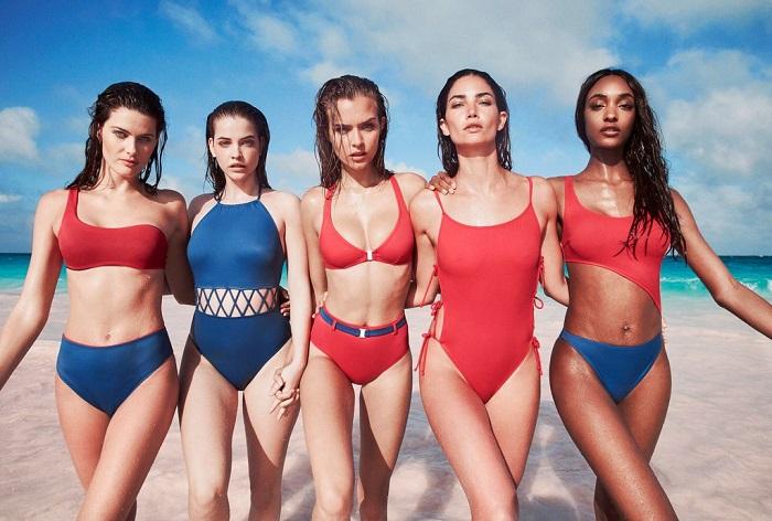 Рекламная копания Solid Striped и 13 супермоделей на лето 2018 - ф2