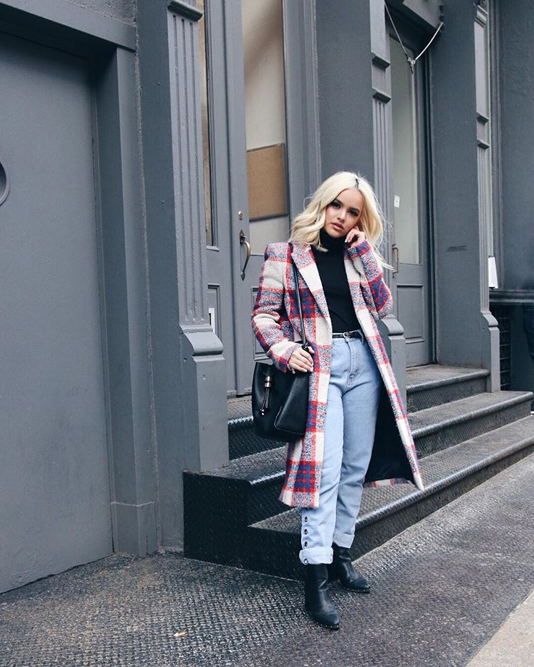 24 стильных образа блогеров из Instagram на март 2018 г., на фото