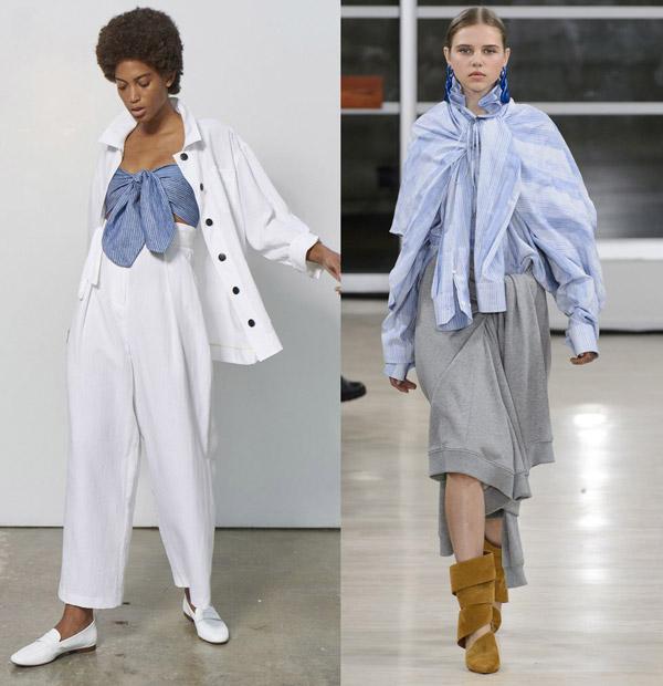 «Узелок завяжется…», или узел как модный тренд на лето 2018, на фото