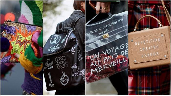 Модные сумки с лозунгами