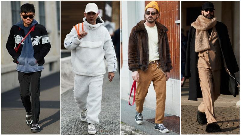 Мужчины в уличном стиле