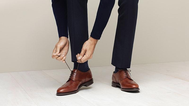 Как носить обувь дерби