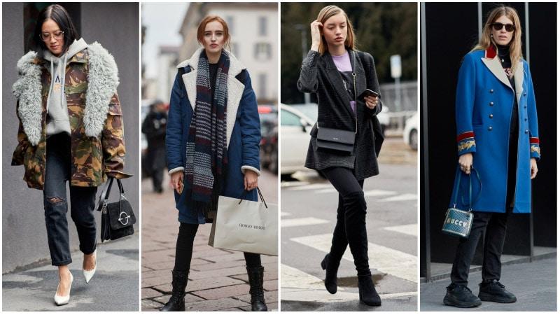 Девушки в черных джинсах, обувь для черных джинсов