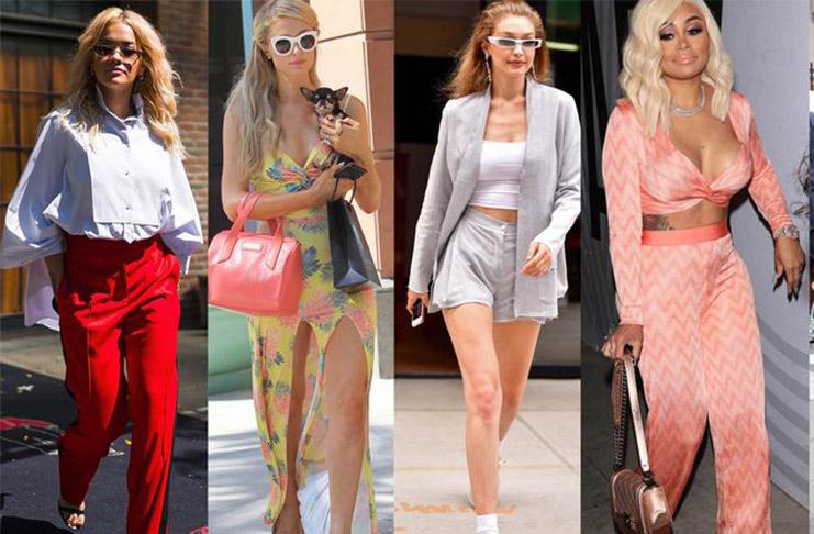 Модные знаменитости
