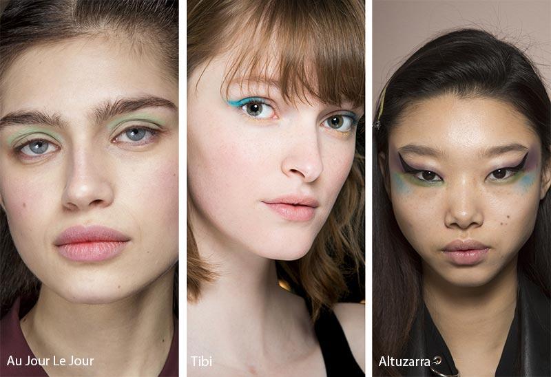 Макияж ярких оттенков, тенденции макияжа
