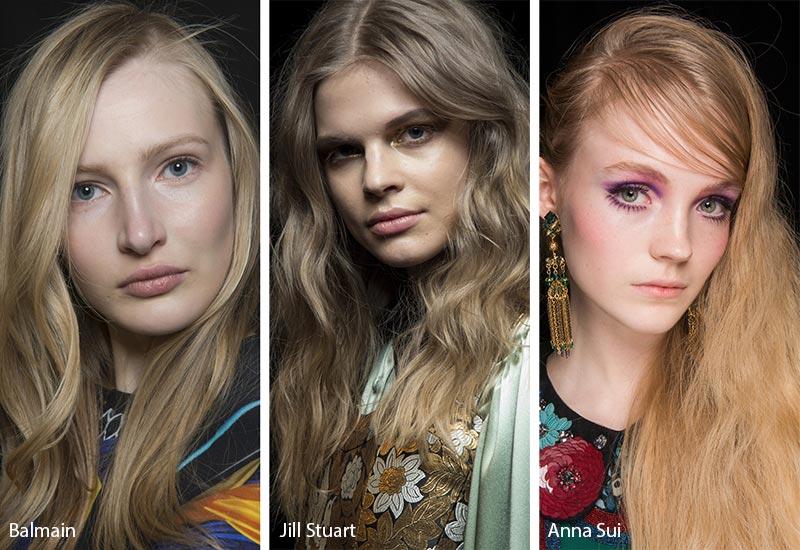 Модели с длинными волосами цвета грядный блонд
