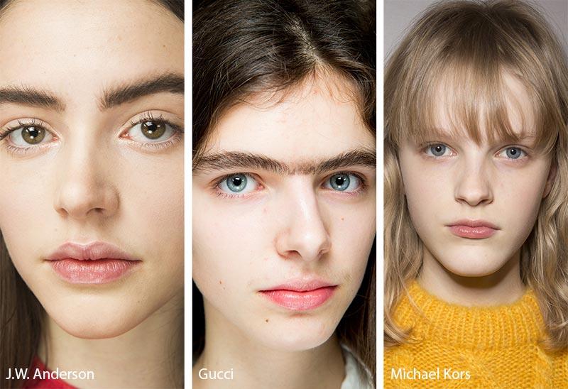 Модели с естественным макияжем