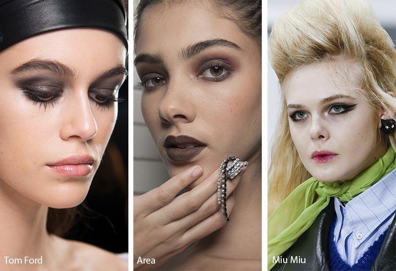 Модели с макияжем смоки айс