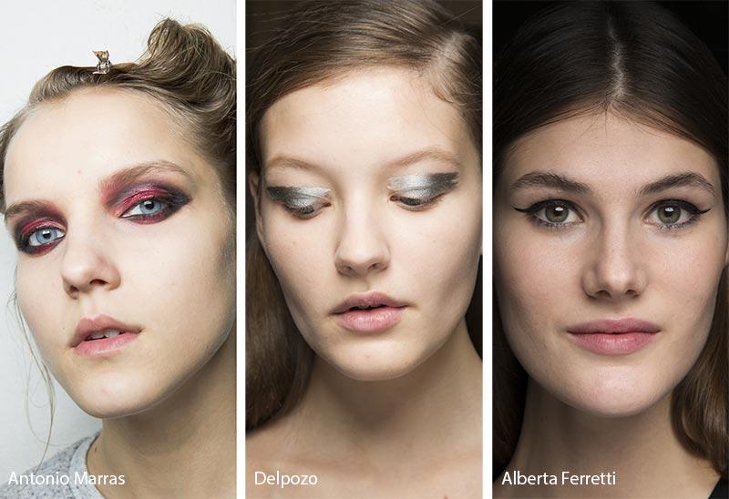 Модный макияж без помады
