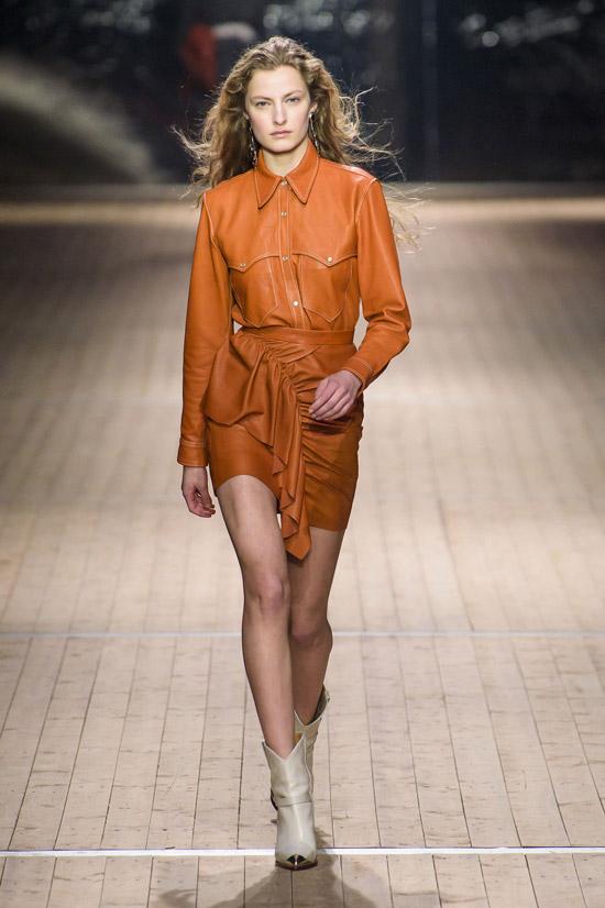 Мини юбка Isabel Marant коллекция осень/зима 2018