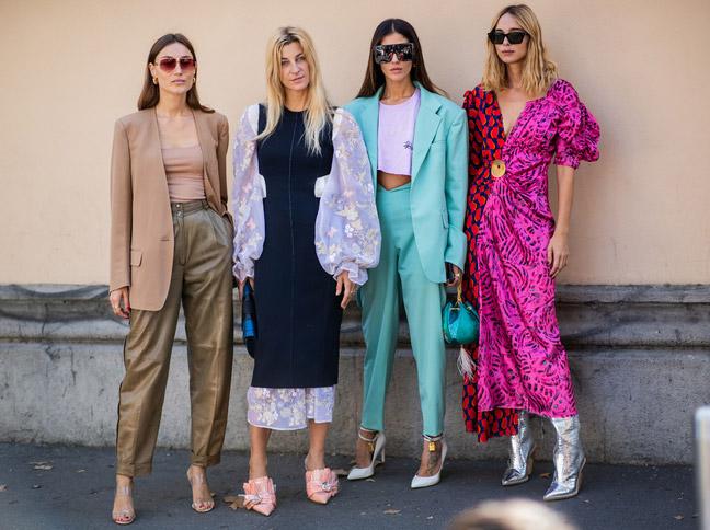 Девушки на недели моды