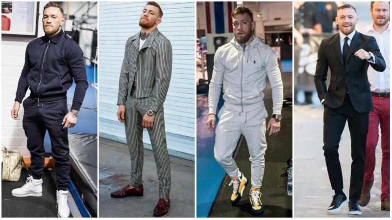 Конор Макгрегор в модной обуви