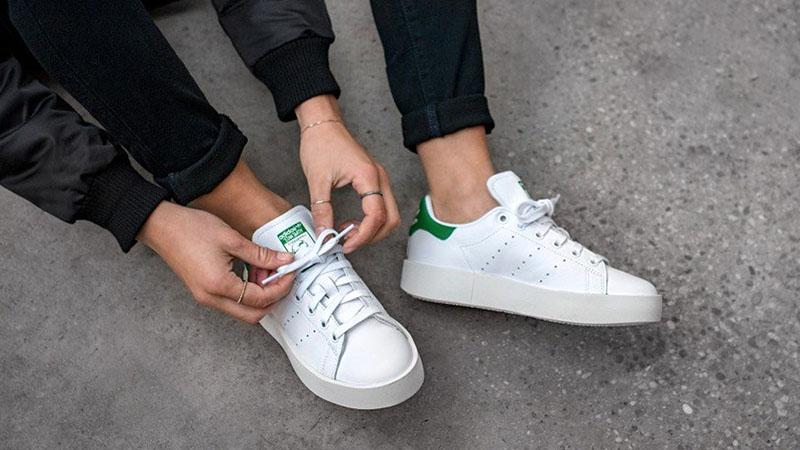 Белые кроссовки Adidas Originals Stan Smith Shoes