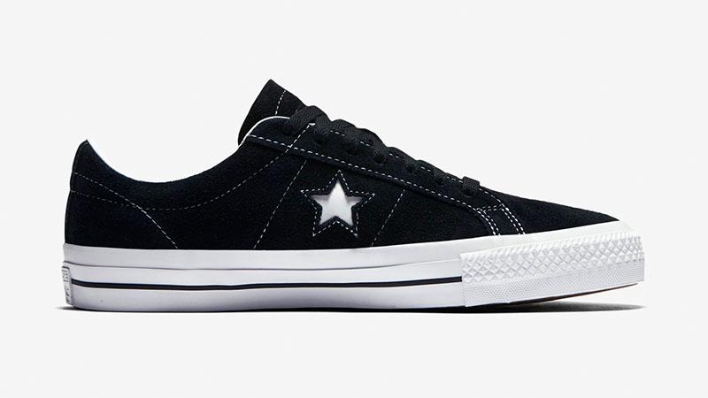 Черные кеды Converse One Star Pro