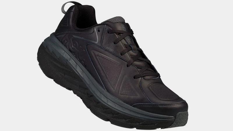 Черные кроссовки Hoka One One Bondi 5