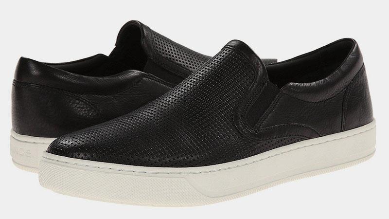 Черные мокасины Vince Ace Sneaker