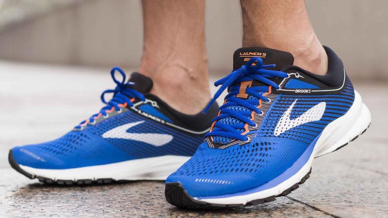 Синие кроссовки Brooks Launch 5