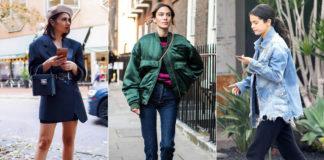 4 способа девушкам носить крутые мужские куртки осенью 2019