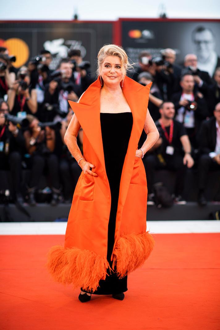 Катрин Денёв на 76-м Венецианском кинофестивале 2019 года