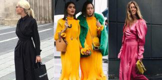 Летние платья – миди, показываем как носить их осенью!