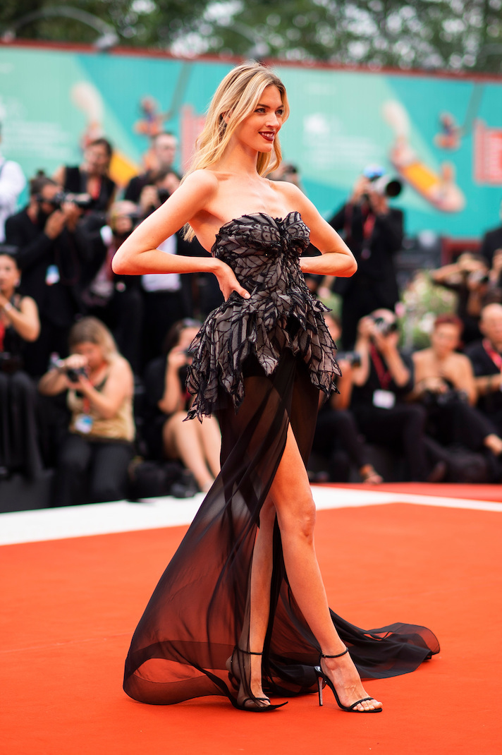 Марта Хант на 76-м Венецианском кинофестивале 2019 года