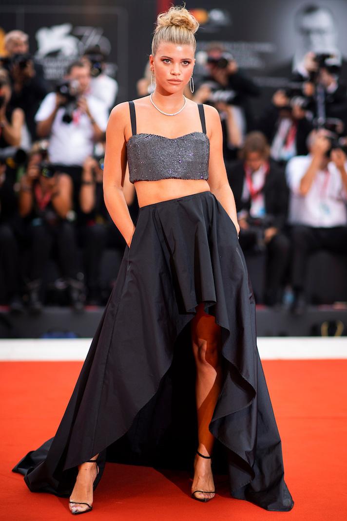 София Ричи на 76-м Венецианском кинофестивале 2019 года
