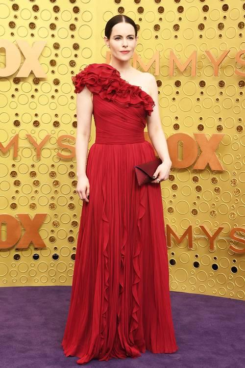 Эмили Хэмпшир, во время 71 церемонии вручения премии Эмми