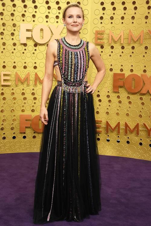 Кристен Белл в платье Dior, во время 71 церемонии вручения премии Эмми